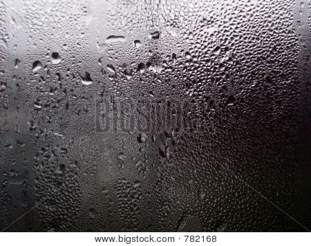 water drops on the window 02