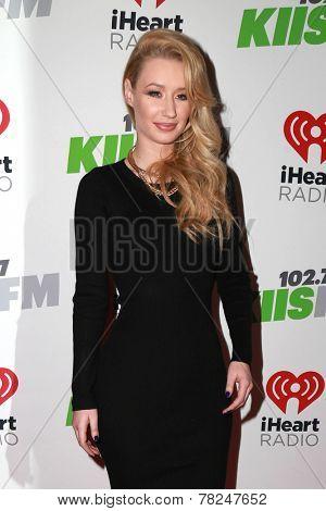 LOS ANGELES - DEC 5:  Iggy Azalea at the KIIS FM's Jingle Ball 2014 at the Staples Center on December 5, 2014 in Los Angeles, CA