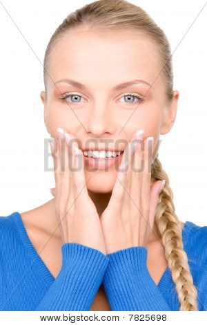 Surprised Woman Face