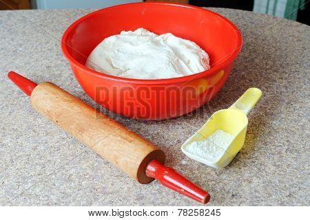 Dough And Baking Objects