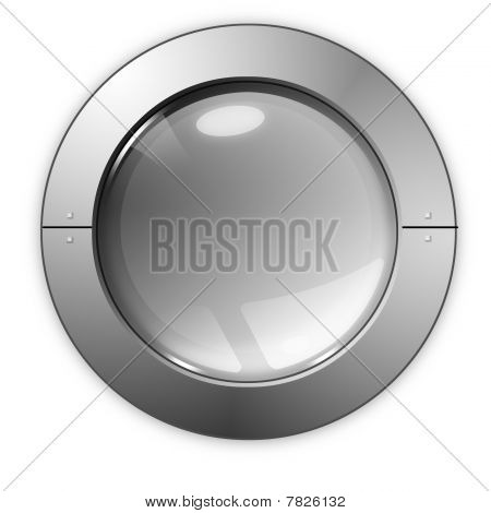 The Gray Glass Ball-button