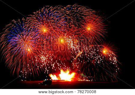 Fireworks in the Med