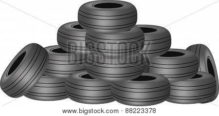Heavy tires