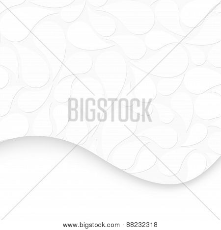 Abstract White Backgroundt. Vector Illustration