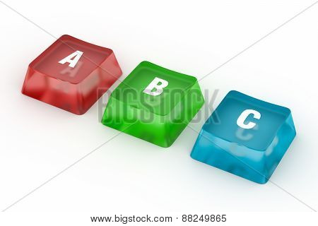 ABC Letters from puzzle