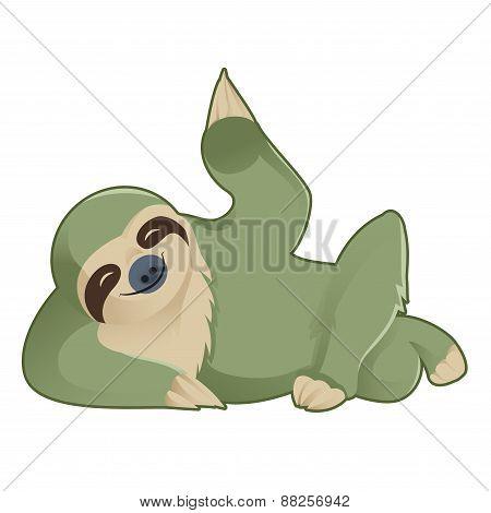 Greeting Sloth