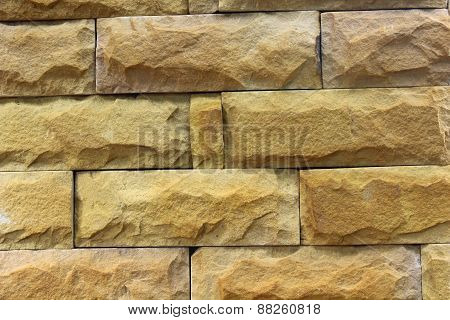 Walls Adorned With Beautiful Stones