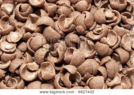 Texture Of Chocolate Chip As A Background