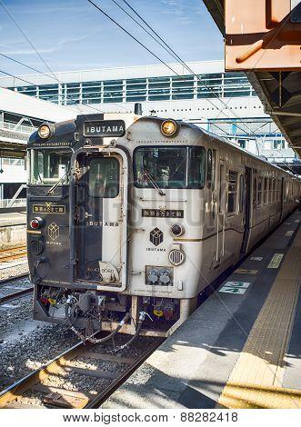 Train in Kyushu Island, Japan