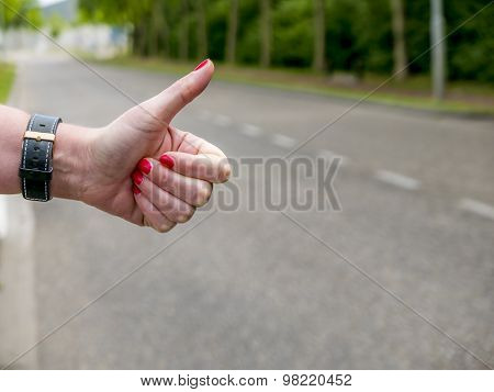 Hitchhikers Gesture