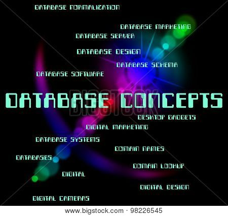 Database Concepts Means Hypothesis Conceptualization And Text