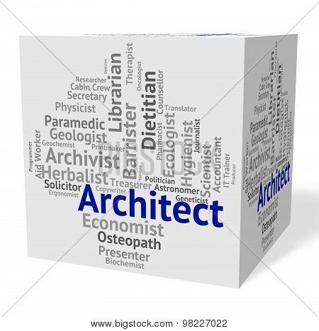 Architect Job Means Originator Recruitment And Work