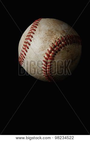 Baseball close up