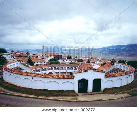 Bullfight Arena (6X7Cm Slide)