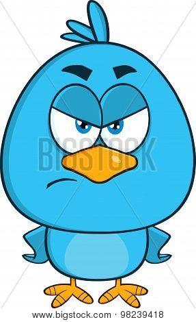 Angry Blue Bird