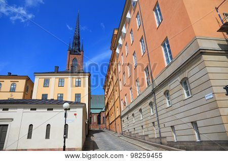 STOCKHOLM, SWEDEN - 10 JUL 2015: Stockholm is the capital of Sweden.