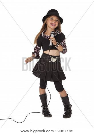 Stylish Child Singer