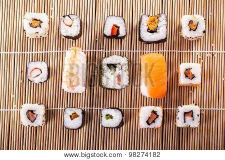 Arranged Sushi