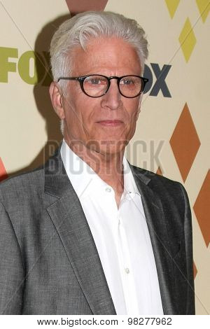 LOS ANGELES - AUG 6:  Ted Danson at the FOX Summer TCA All-Star Party 2015 at the Soho House on August 6, 2015 in West Hollywood, CA