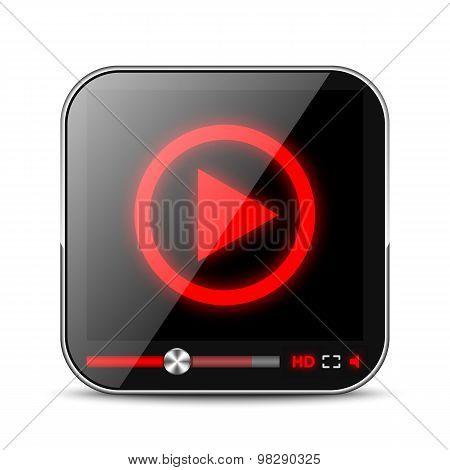 Media Player App Icon
