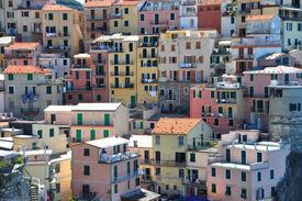 Manarola Houses, Cinque Terre, Italy