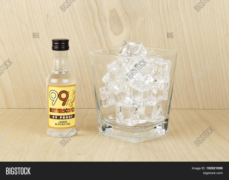 Spencer WisconsinJune 24 2017 Bottle Of 99 Brand Butterscotch Liqueur The Is A