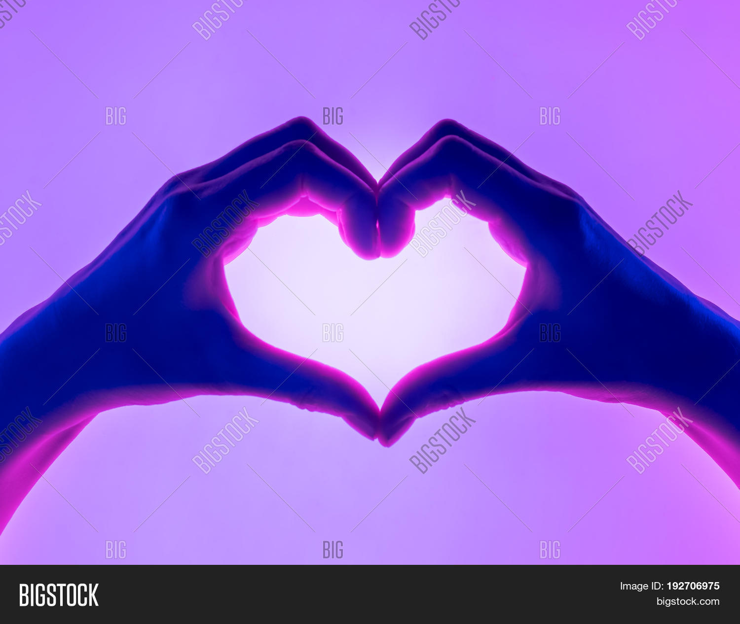 Hands Form Heart Image Photo Free Trial Bigstock