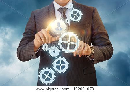 Business Process Managing Person.