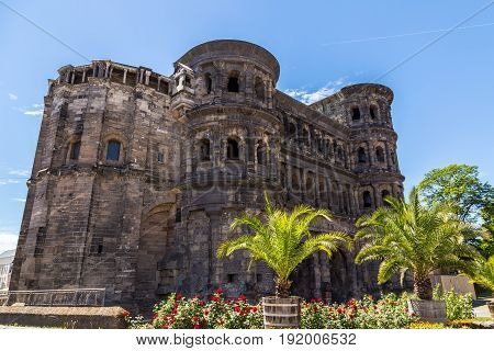 Porta Nigra in Trier Rhineland-Palatinate Germany pictures