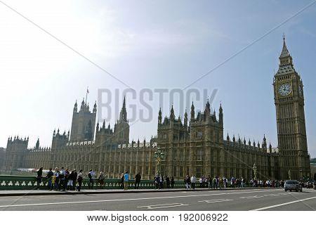 LONDON, ENGLAND - April 26, 2012: London Bridge, London. UK.