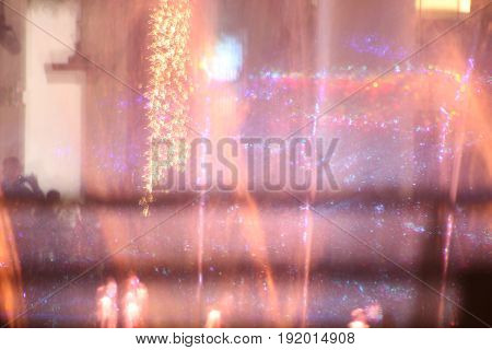 Defocused, Abstract, Backgrounds, Black Color, Blue, Blurred Motion, Bright, Brightly Lit, Celebration, Celebration Event, Christmas Lights, Close-up, Color Image, Concepts, Decoration, Design Element, Electricity, Firework - Explosive Materia