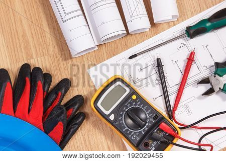 Electrical Diagrams, Multimeter For Measurement In Electrical Installation And Accessories For Use I