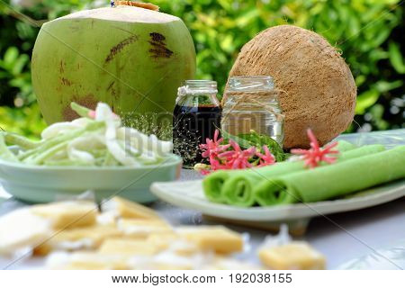 Product From Coconut