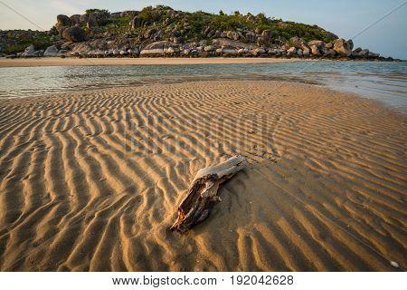 East Woody beach and East Woody island of Gove peninsula, Northern territory, Australia.