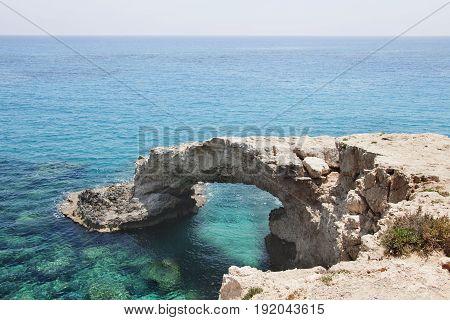 Monachus Monachus Arch. Cavo Greco Cape. Mediterranean Sea, Cyprus.