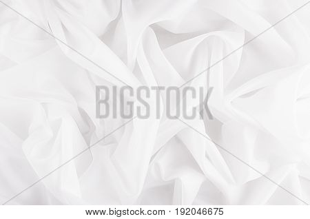 White smooth silky texture for wedding background.