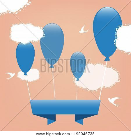 holiday vector banner. Colorful greeting card. Elements for your holiday design. Eps10