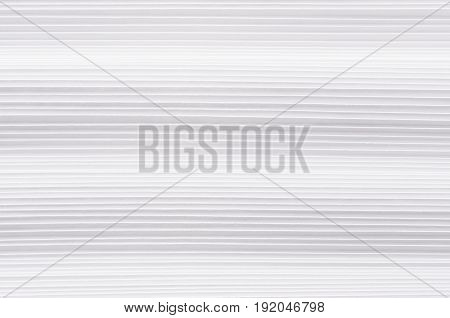 Striped halftone wavy white paper texture abstract background.