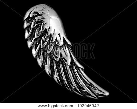 Pendant Necklace Angel Wing