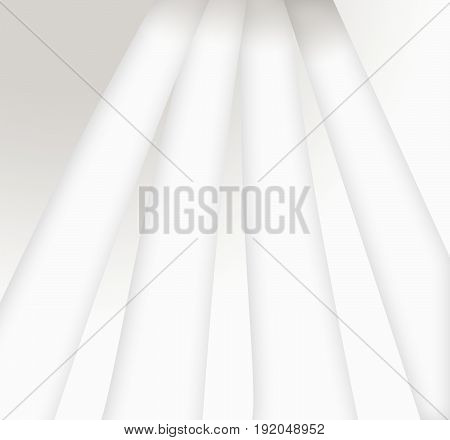 create the greatness of white light with the shadows on gradient background