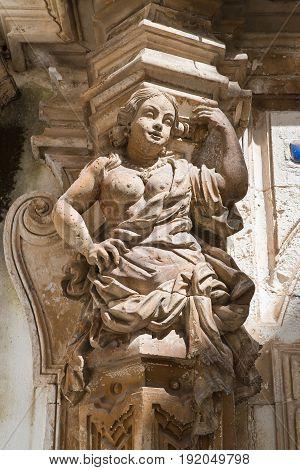 Ancona palace. Martina Franca. Puglia. Southern Italy.