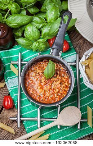 Mediterranean Meal Preparation.