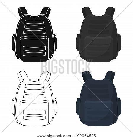 Protective waistcoat.Paintball single icon in cartoon style vector symbol stock illustration .