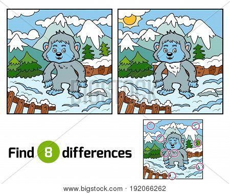 Find Differences, Yeti