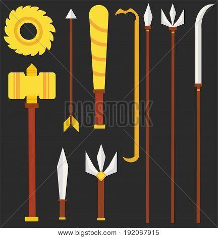 Weapons of Tossakan in Ramayana of Thai