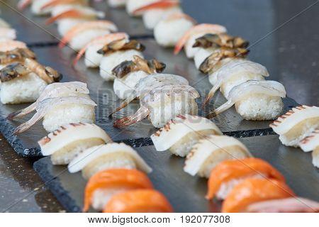 Various Sushi, Nigiri Sushi Set