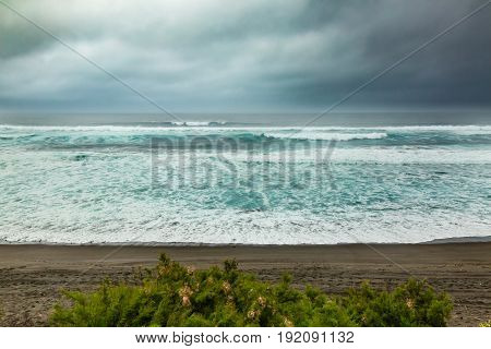 Bad Weather On The North Coast Of Sao Miguel Island, Azores