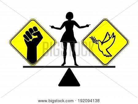 Divorce with peace or war. Choosing the way to get divorced, peaceful or violent