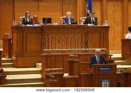 Liviu Dragnea Parliament