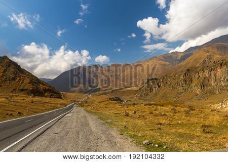 Landscapes Of The Georgian Military Road, Georgia